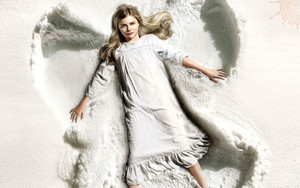 Preview wallpaper  <b>Snow</b>, Angel, Actress, Chloe Grace Moretz
