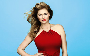 Preview wallpaper Actress, American, Blue Eyes, Brunette, Kate Upton