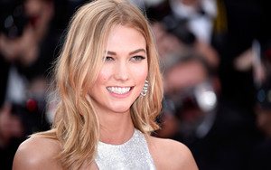 Preview wallpaper American, Blonde, Face, Karlie Kloss, Model, Smile