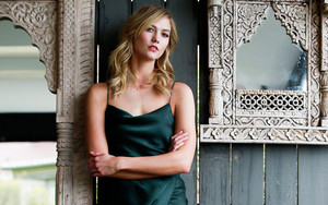 Preview wallpaper American, Blonde, Karlie Kloss, Model, Woman