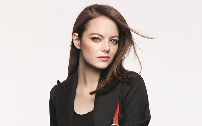 Wallpaper of Actress, American, Blue Eyes, Brunette, Emma Stone background & HD image