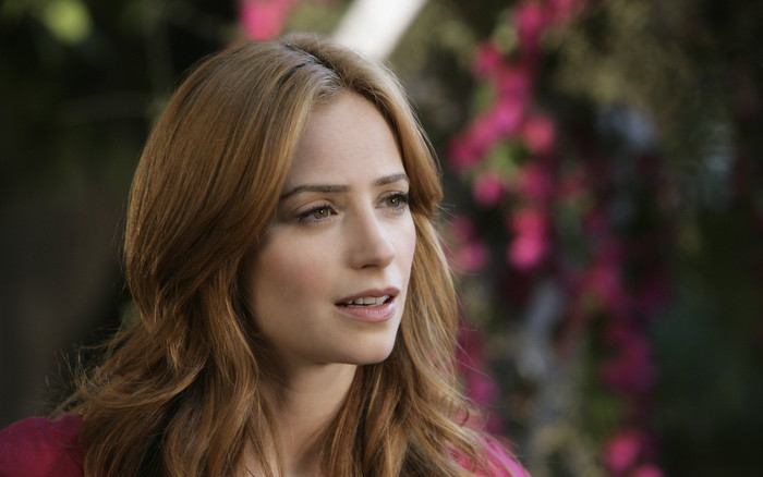 Wallpaper of Actress, American, Jaime Ray Newman, Redhead background & HD image