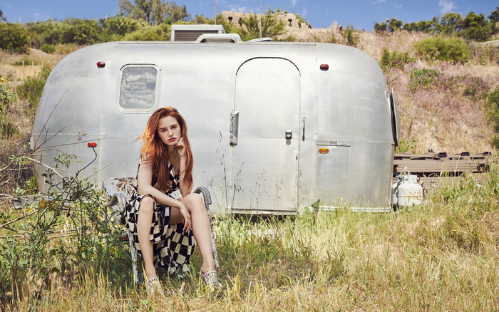 Wallpaper of Actress, American, Girl, Madelaine Petsch, Redhead background & HD image