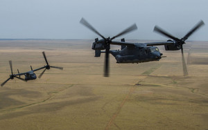 Preview wallpaper of Aircraft, Bell Boeing V-22 Osprey, Helicopter