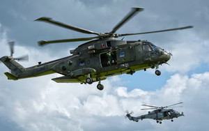 Preview wallpaper of AgustaWestland AW101, Aircraft, Helicopter