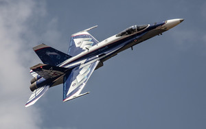 Preview wallpaper of Aircraft, Jet Fighter, McDonnell Douglas CF-18