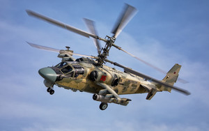 Preview wallpaper of Aircraft, Attack Helicopter, Helicopter, Ka-50