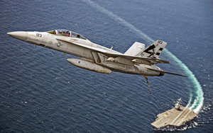Preview wallpaper of Aircraft, Boeing F A-18E F Super Hornet, Jet Fight