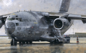 Preview wallpaper of Aircraft, Boeing, Boeing C-17 Globemaster III