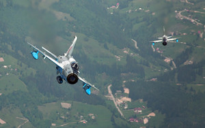 Preview wallpaper Aircraft, Jet Fighter, Mikoyan-Gurevich MiG-21