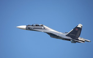 Preview wallpaper of Aircraft, Jet, Fighter, Sukhoi Su-30, Warplane