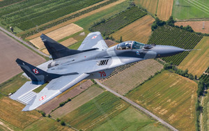 Preview wallpaper of Aircraft, Jet, Fighter, Mikoyan MiG-29, Warplane