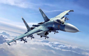 Preview wallpaper of Aircraft, Jet Fighter, Sukhoi Su-33, Warplane