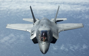 Preview wallpaper of Aircraft, Jet Fighter, Lockheed Martin, F-35