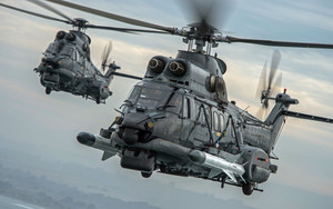 Preview wallpaper of Aircraft, Eurocopter EC725, Helicopter, Transport