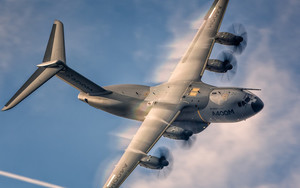 Preview wallpaper of Airbus A400M, Atlas, Transport, Aircraft, Warplane