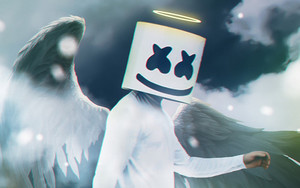 Preview wallpaper of Angel, Marshmello, Music