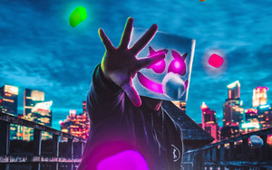Preview wallpaper Art, Music, Marshmello, DJ