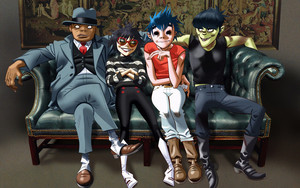 Preview wallpaper of Music, Gorillaz, Poster
