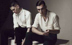 Preview wallpaper Группа Hurts: Theo Hutchcraft и Adam Anderson