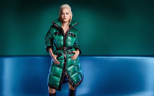 Preview wallpaper of Blonde, English, Girl, Jacket, Rita Ora, Singer