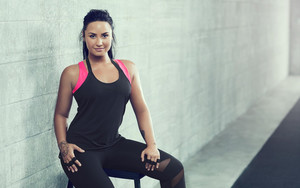 Preview wallpaper of American, Demi Lovato, Fitness, Singer, Tattoo