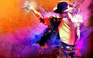 Смотреть обои Artistic, Celebrity, King of Pop, Michael Jackson