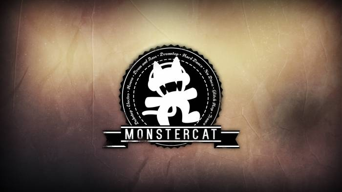 HD Wallpaper Monstercat, лого