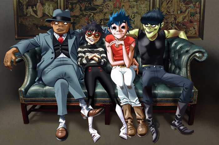 Wallpaper of Music, Gorillaz, Poster background & HD image