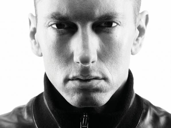 Обои eminem, slim shady, лицо