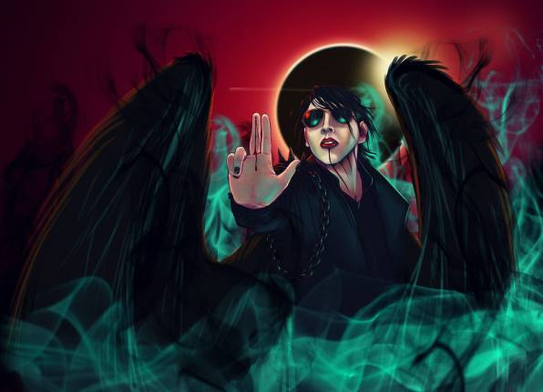 Обои Marilyn Manson, Brian Hugh Warner