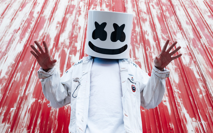 Wallpaper of DJ, Marshmello, Music background & HD image