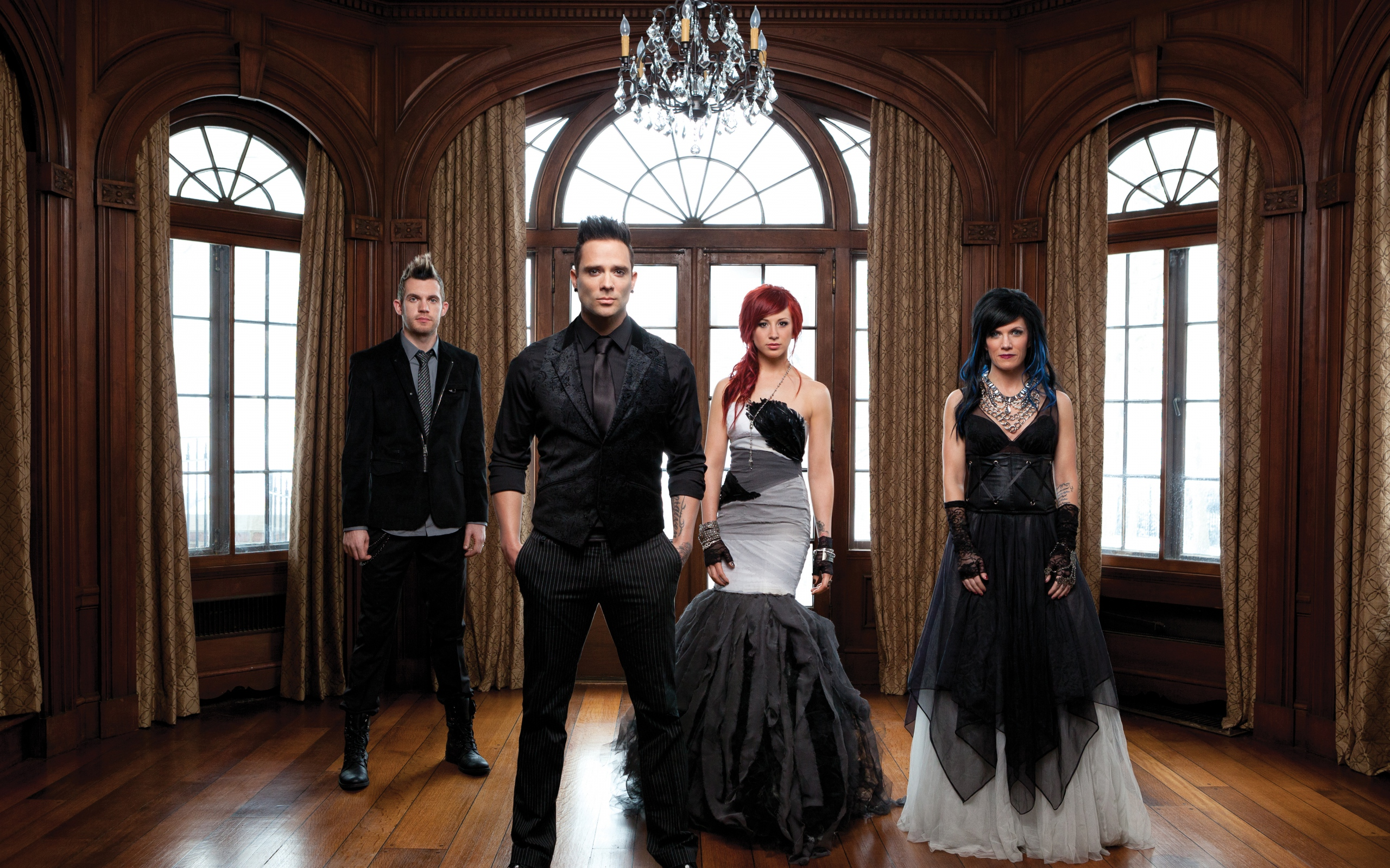 Wallpaper Skillet Jen Ledger Christian Rock John Cooper Desktop