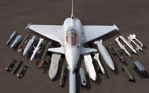 Смотреть обои Army, EuroFighter  Typhoon, Military, Aircraft