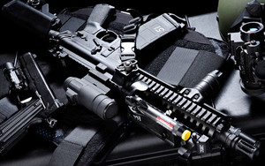 Preview wallpaper of Weapons, Assault Rifle, M4A4