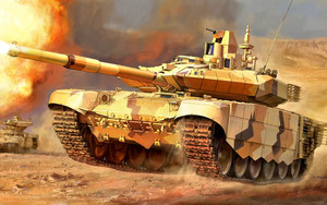 Preview wallpaper of T-90, Tank, Military