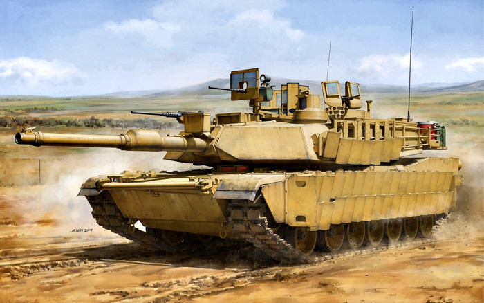 Wallpaper of Artistic, M1, Abrams, Tank background & HD image