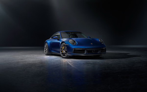 Preview wallpaper  Car, <b>Supercar</b>, SportCar, Blue, Porsche 911 Carrera