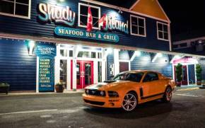 Смотреть обои Ford Mustang, Saleen Parnelli Jones Boss 302