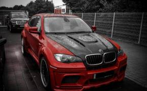 Смотреть обои BMW X6M, Hamann, Tuning, Jeep