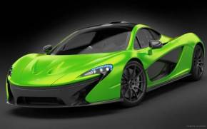 Preview wallpaper  McLaren P1 - Green <b>Supercar</b>