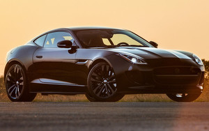 Preview wallpaper of Jaguar F-Type R Coupe HPE600 by Hennessey