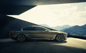 Смотреть обои BMW Vision,  Luxury Concept
