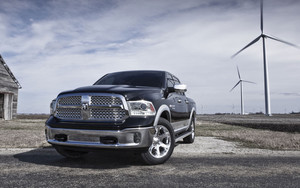 Смотреть обои Dodge, Dodge Ram 1500, Car, Black