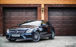 Смотреть обои Mercedes, Benz, CLS, Thirteen