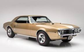 Смотреть обои pontiac firebird 1967, muscle car