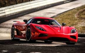 Смотреть обои koenigsegg agera r red supercar