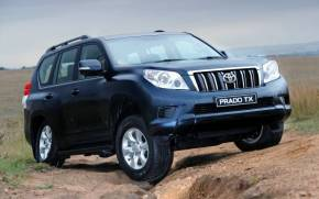 Смотреть обои Toyota Land Cruiser Prado