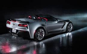 Смотреть обои Chevrolet Corvette Z06 Convertible