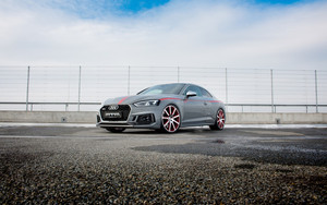 Смотреть обои Audi RS5, Silver, Sport, Car, Vehicle